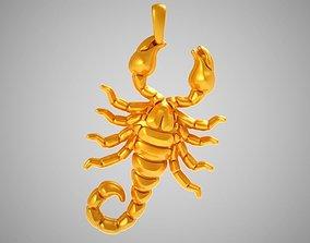 3D printable model Scorpion Necklace