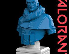 Sova Bust from Valorant 3D print ready
