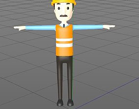 CartoonMan 3D