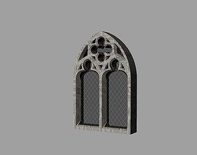 Gothic WIndow 3D