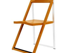 3D model Calligaris Skip Folding Chair