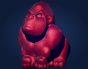 chimp Gorilla 3D printable model