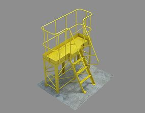 3D model The technological platform mk 1