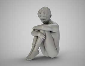 3D printable model Story of an Introvert Girl