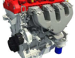 Red Engine 3D model