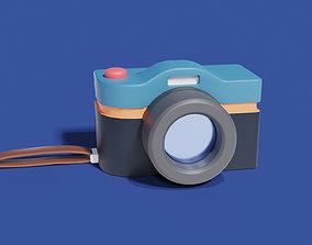 Photocamera 3D asset