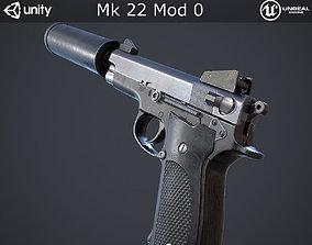 Mk 22 Mod 0 3D asset