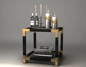 3D model SIDE TABLE ROYALTON Eichholtz