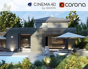 Corona - C4D Scene files - House Jackson 3D