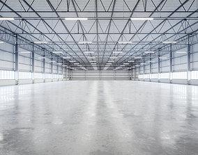 Warehouse Interior 9b 3D model