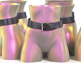 3D model Leather Belt 11