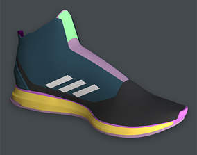 3D model second-life Adidas Boost