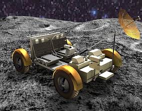 3D model Moonrover