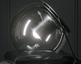 The Globe Table Lamp By Joe Colombo 3D model