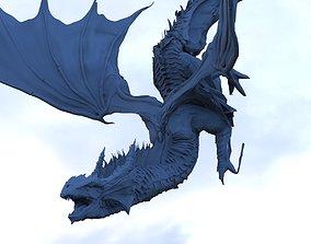 Dragon Diving 3D model