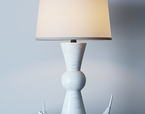 Upbeat table lamp 3D model