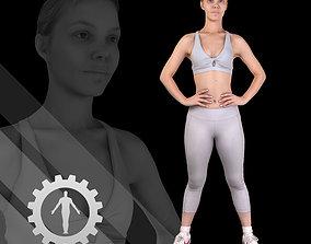 3D Female Scan - Olga 95
