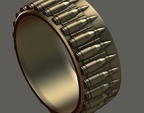 Ring bullet 3D print model kalashnik