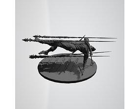 3D print model Genji dodging rockets