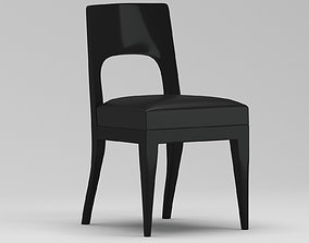 3D model Christian Liaigre Musc side chair