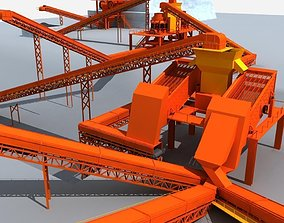 Mining Machinery 3D model