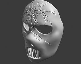 Paul Grey Mask Slipknot 3D printable model