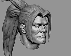 King Varian fan bust 3D king