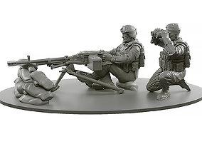 3D print model Machine Gun Kord