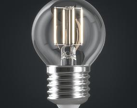 3D emission Light bulb 06