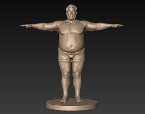 3D model Fatman Basemesh