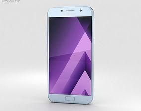 3D Samsung Galaxy A5 2017 Blue Mist