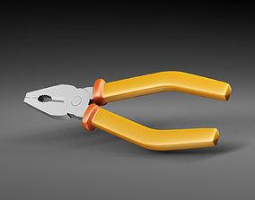 3D model Universal pliers