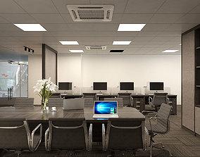 Office modern interior 3D