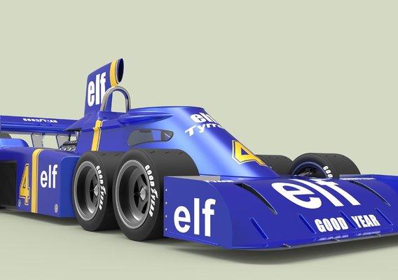 The Tyrrell P34 (six-wheeler)