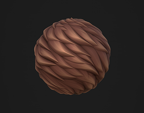 3D model Stylized Fur