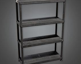 3D model Shelf Unit TLS - PBR Game Ready