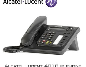 3D asset Alcatel lucent 4018 ip phone