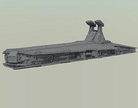 3D model Venator - class Star Destroyer