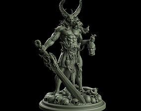 Demonic Slayer 3D printable model