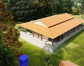 Residencia rural - Casa de campo - country house 3D model