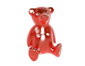 3D Gummy Teddy Bear Jelly Sweet Toy Candy