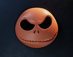 Jack Skellington Mask - Halloween 3D printable model