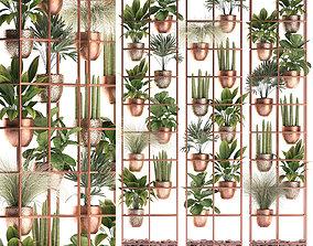 3D model Plants collection Vertical gardening 32