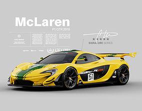 McLaren P1 GTR 2015 - Exterior Interior Engine 3D