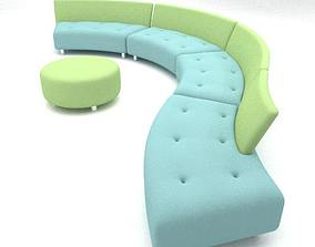3D Questionmark sofa