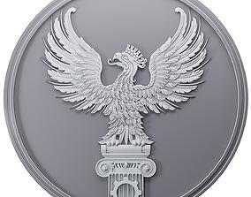 logos 3D print model Eagle