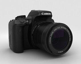 3D model Canon EOS Rebel T6i