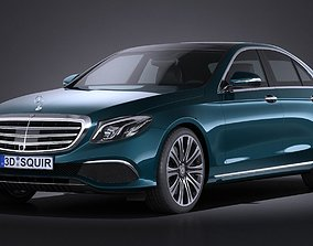 Mercedes E-Class 2017 3D model