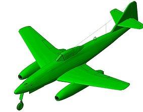 3D Messerschmitt Me-262 Schwalbe