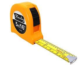 construction tape measure 3d model